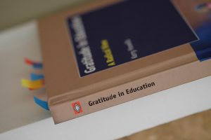 Cover of book Gratitude in Education by Dr Kerry Howells